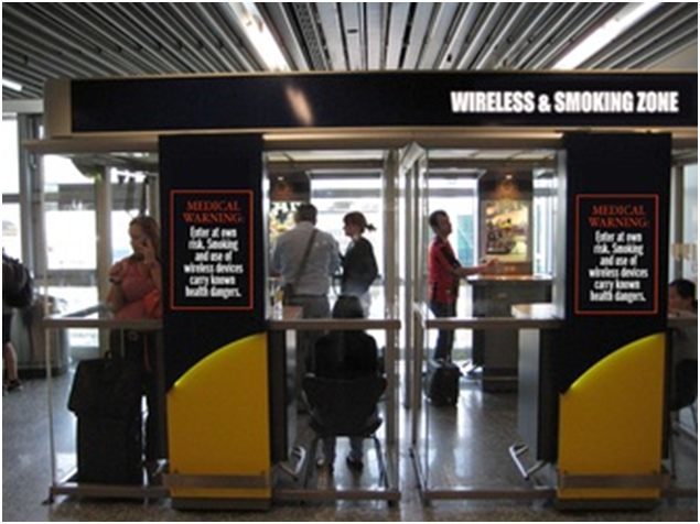 Wireless and Smoking Zone
